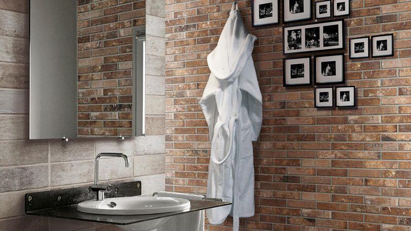 Brick finish wall tiles Brick generation | Floor & Wall Tiles Design Ideas