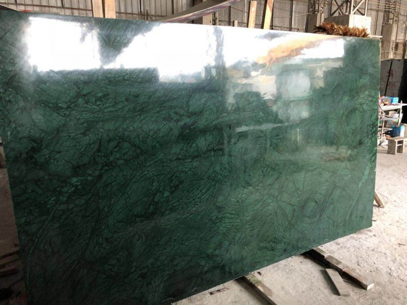 China Natural Stone India Green Marble Slabs Tiles for Interior Floor Wall  - China Vanity Tops, Cut to Size