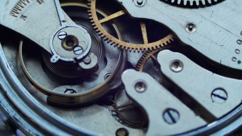 Close up of a internal clock mechanism Stock Footage,#clock#internal#Close#Footage  | Clock, Vintage clock, Close up