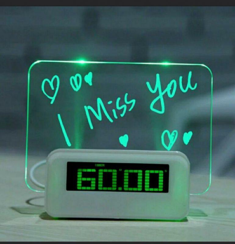 Digital Clock/ LED Clock/ Digital Memo/Write Board/Digital Alarm,  Electronics, Others on Carousell