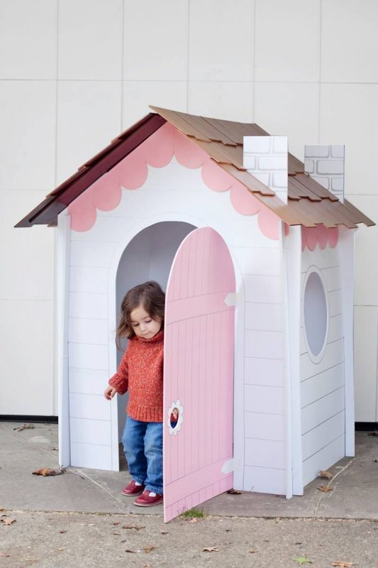 17) Stuck On You - Official Page (With images) | Cardboard box houses,  Cardboard house, Diy playhouse
