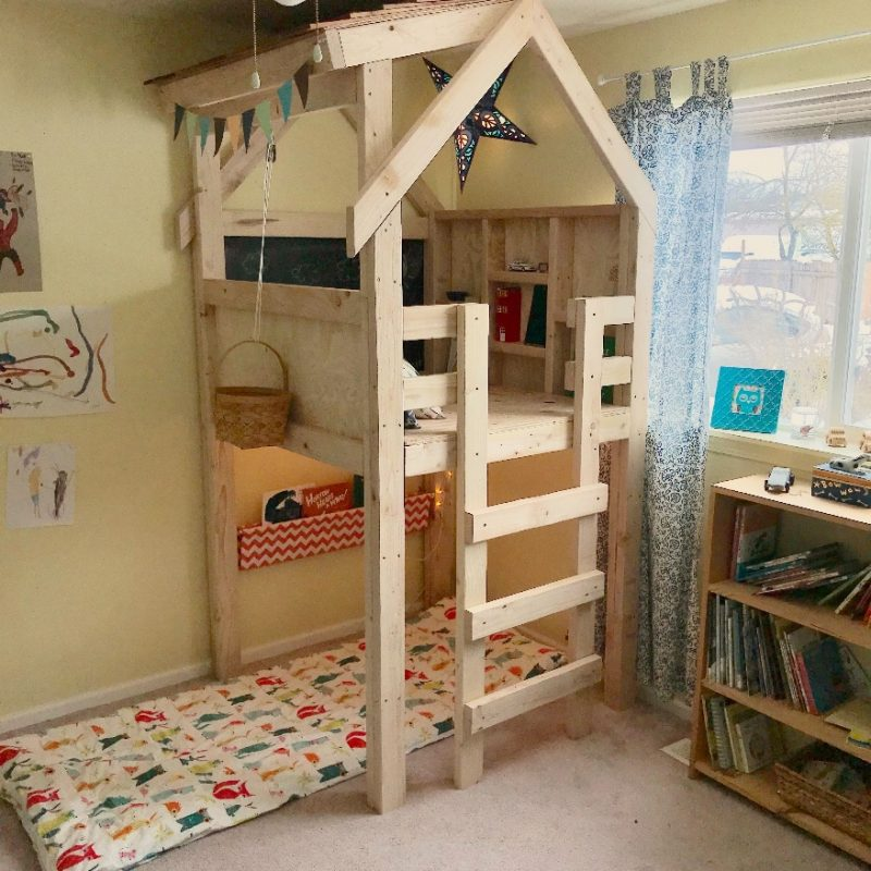 Ana White | Indoor Playhouse - DIY Projects | Indoor playhouse, Play  houses, Indoor playroom