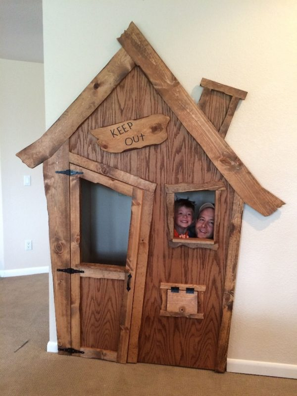 DIY Indoor Playhouse Transformation | Indoor playhouse, Diy playhouse, Build  a playhouse