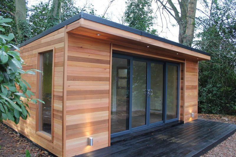 Exciting Ideas to build your beautiful log cabin in the mountains or next  to a lake. A peaceful environm… | Summer house garden, Outdoor garden  rooms, Garden cabins