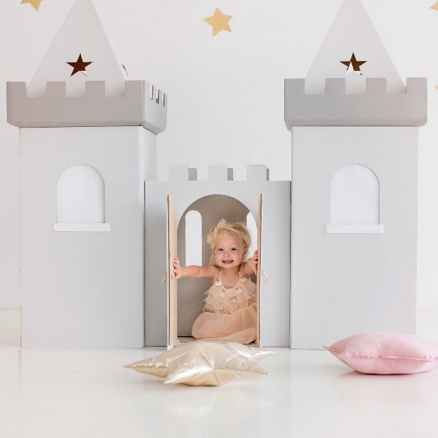 Updates from Wonderworldplayhouse on Etsy | Play houses, Cardboard house,  Elmo birthday