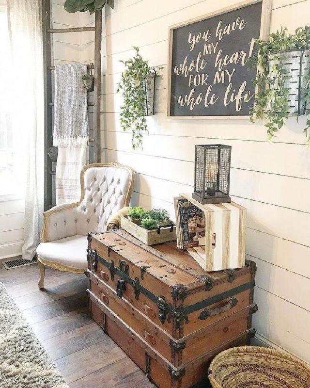 55 cozy affordable farmhouse entryway decorating ideas 15 | homezideas