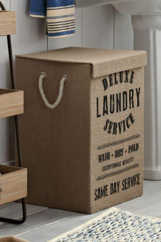 Buy Jute Laundry Hamper from the Next UK online shop | Laundry hamper,  Hamper, Christmas decor diy