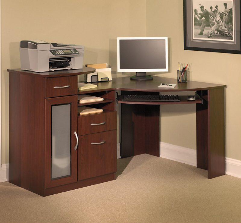 Fascinating Bush Vantage Corner Computer Desk Ideas
