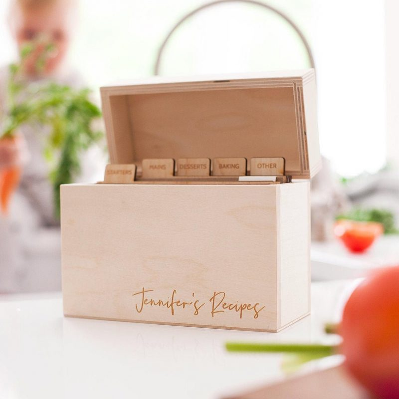 These Precious Recipe Boxes Are Begging To Hold Your Beloved Family Recipe  Cards | Southern Living