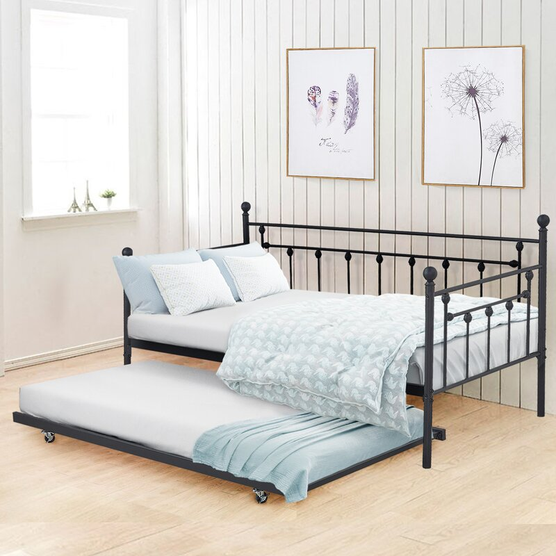 Hancock Twin Metal Daybed with Trundle