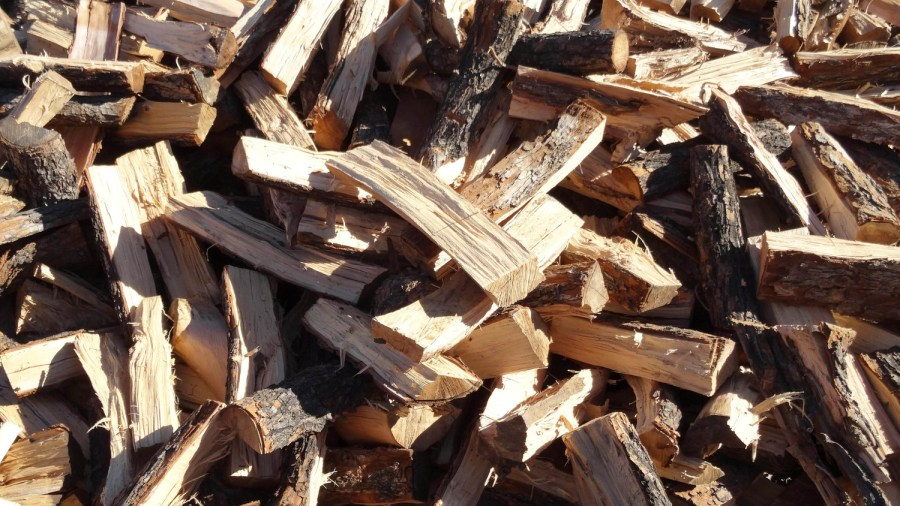 A medium hardwood. Great for both cooking and heating.