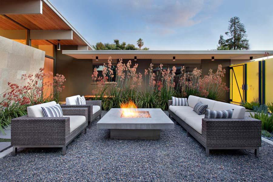 fire pits backyard landscaping ideas