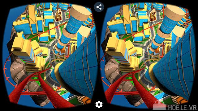 Crazy Roller Coaster VR