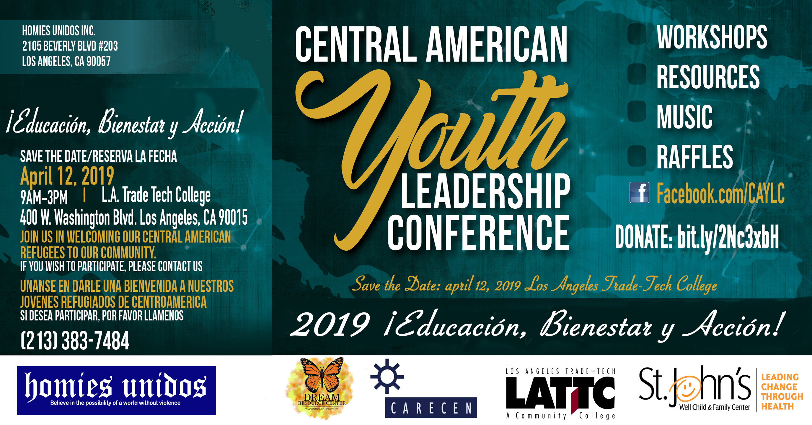 Homies Unidos » Central American Youth Leadership Conference 2019