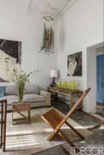 Afordable Livingroom Summer Decoration 11