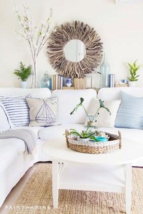 Afordable Livingroom Summer Decoration 35