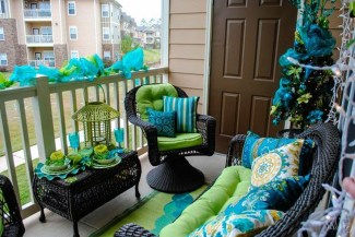 Afordable Summer Balcony Decoration 03