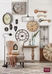 Amazing Ancient Clock At Llivingroom 08