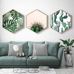Amazing Painting Wallpaper On Livingroom 24