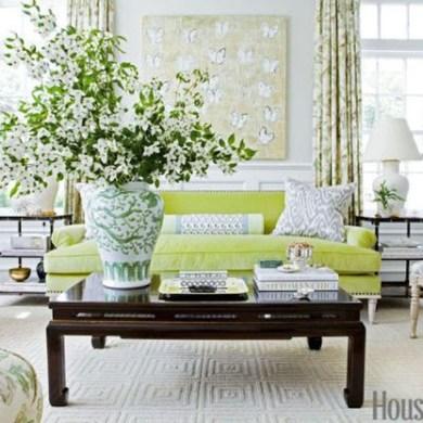 Amazing Painting Wallpaper On Livingroom 31