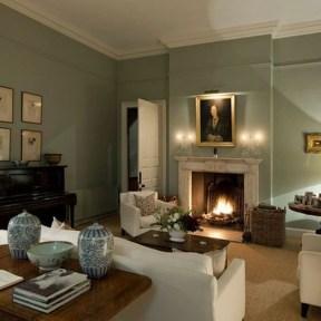Cozy Green Livingroom Ideas 38