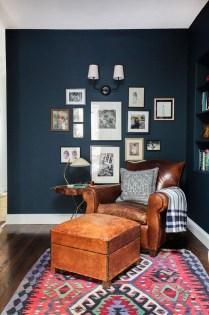 Lovely Blue Livigroom Ideas 11