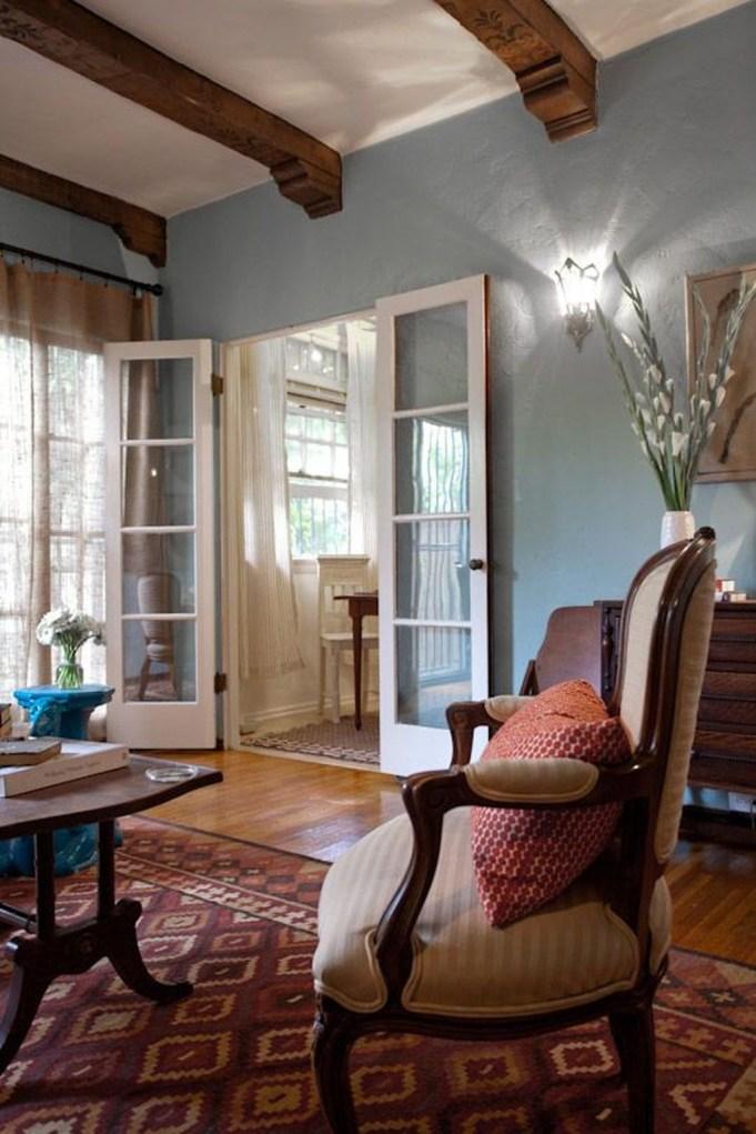 Lovely Blue Livigroom Ideas 18