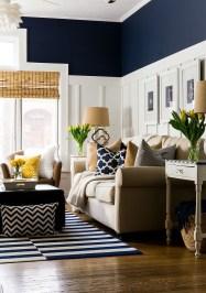 Lovely Blue Livigroom Ideas 29