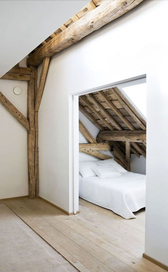 Unique Wooden Attic Ideas 25