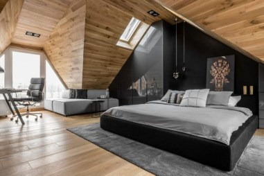 Unique Wooden Attic Ideas 38