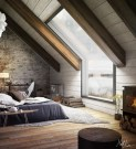 Unique Wooden Attic Ideas 39