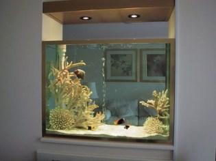 Amazing Aquarium Design Ideas Indoor Decorations 25