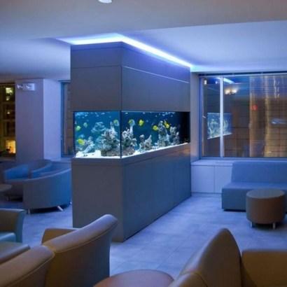 Amazing Aquarium Design Ideas Indoor Decorations 27