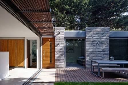 Amazing Contemporary Urban Front Doors Inspiration 12