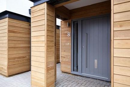 Amazing Contemporary Urban Front Doors Inspiration 36