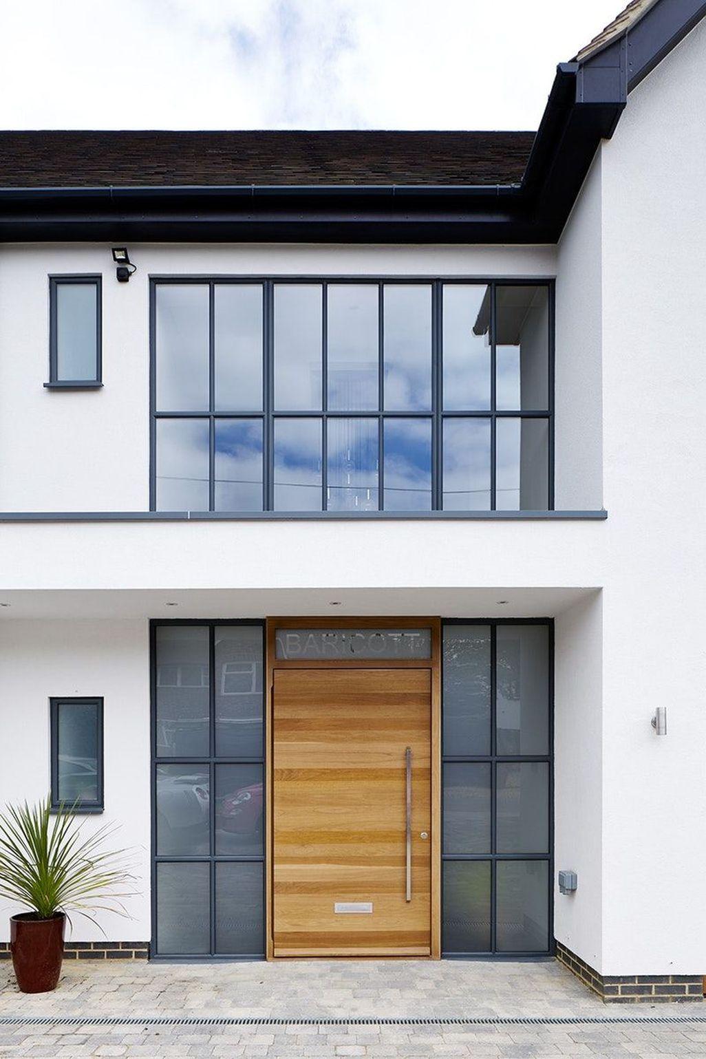 Amazing Contemporary Urban Front Doors Inspiration 39