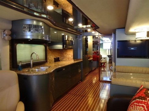 Amazing Luxury Travel Trailers Interior Design Ideas 24
