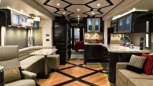 Amazing Luxury Travel Trailers Interior Design Ideas 34