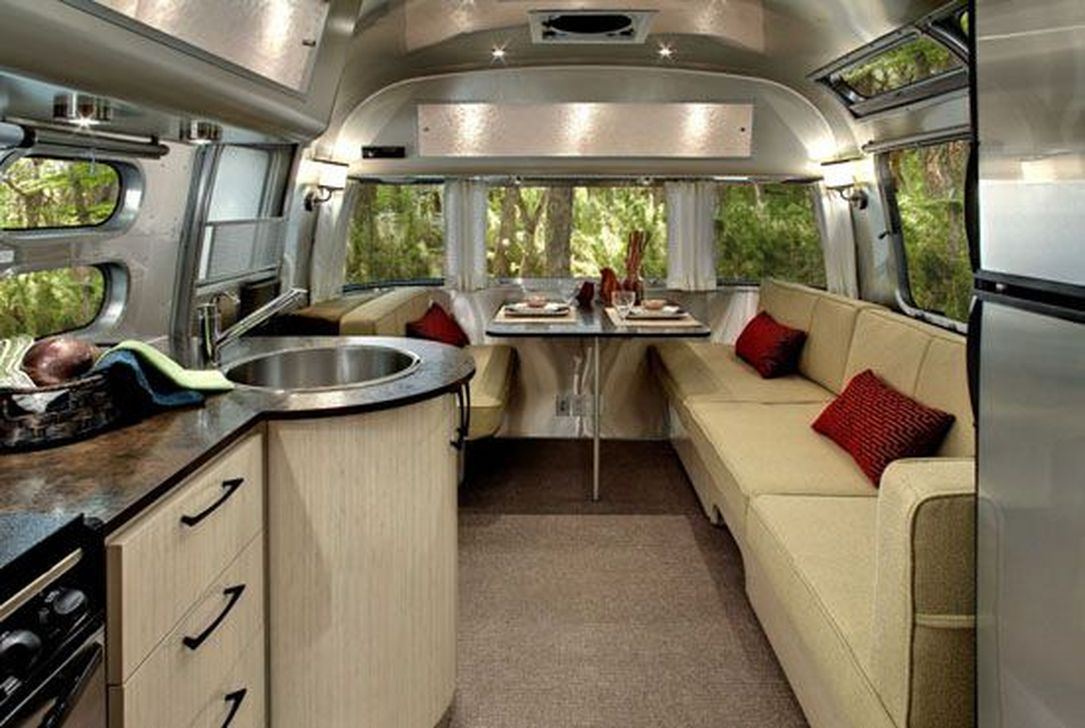Amazing Luxury Travel Trailers Interior Design Ideas 38