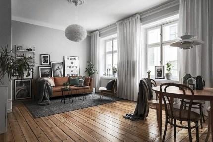 Amazing Modern Apartment Living Room Design Ideas 48