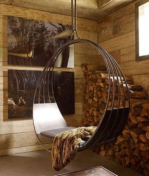 Amazing Relaxable Indoor Swing Chair Design Ideas 37