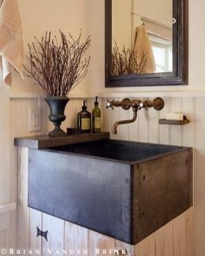 Awesome Country Mirror Bathroom Decor Ideas 01