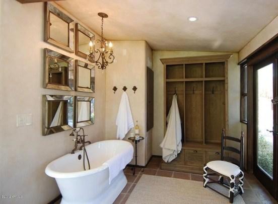 Awesome Country Mirror Bathroom Decor Ideas 05