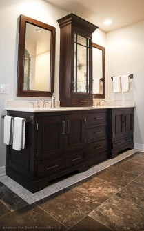Awesome Country Mirror Bathroom Decor Ideas 07