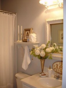 Awesome Country Mirror Bathroom Decor Ideas 17
