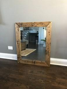 Awesome Country Mirror Bathroom Decor Ideas 20