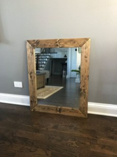 Awesome Country Mirror Bathroom Decor Ideas 20
