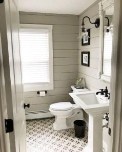 Awesome Country Mirror Bathroom Decor Ideas 25