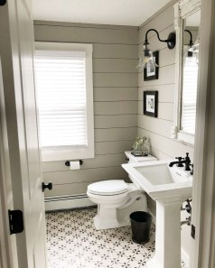 Awesome Country Mirror Bathroom Decor Ideas 25