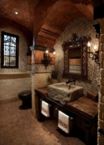 Awesome Country Mirror Bathroom Decor Ideas 28